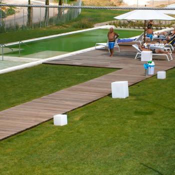 Thermal baths deck