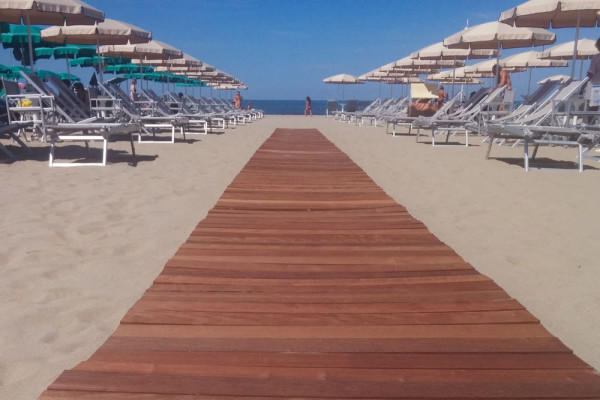 Rool out walkway for beaches