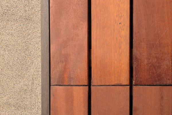 Roll out ipe wood walkway Alice