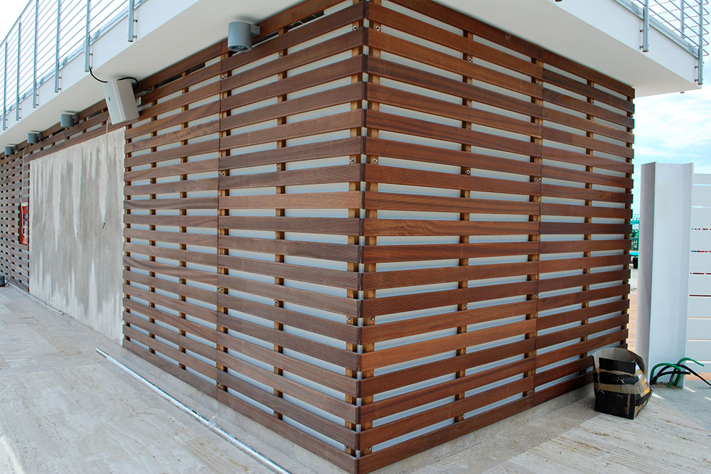 Italian Outdoor Wooden Wall Treatments My Tuscan Wood