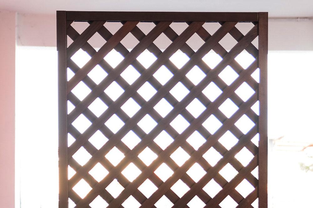 Divisori in legno da giardino paravento frangisole separ for Divisori giardino