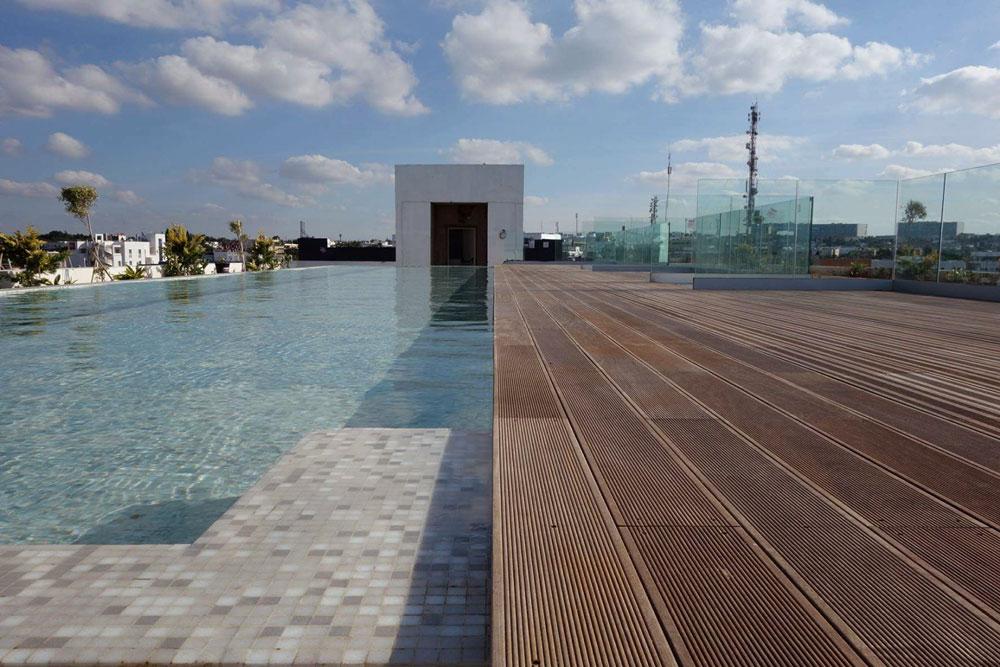 Pavimenti in legno per piscine - Decking