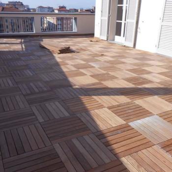 Decking per terrazze in legno