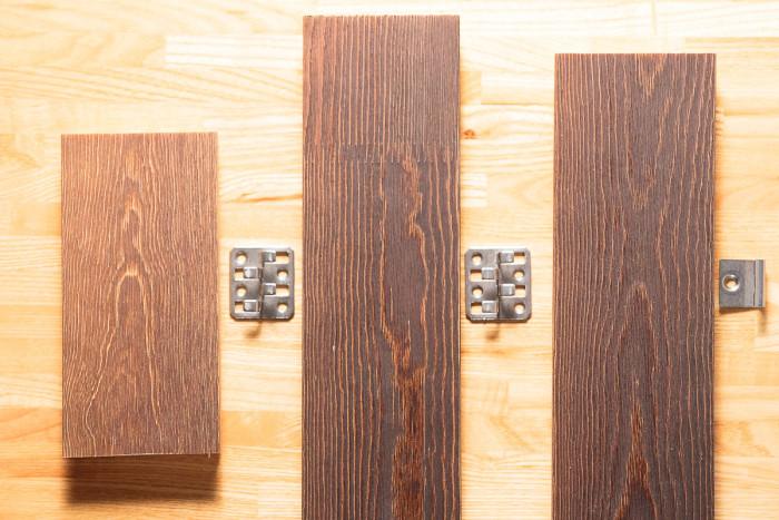 Elementi per il montaggio dei listoni My Tuscan Wood